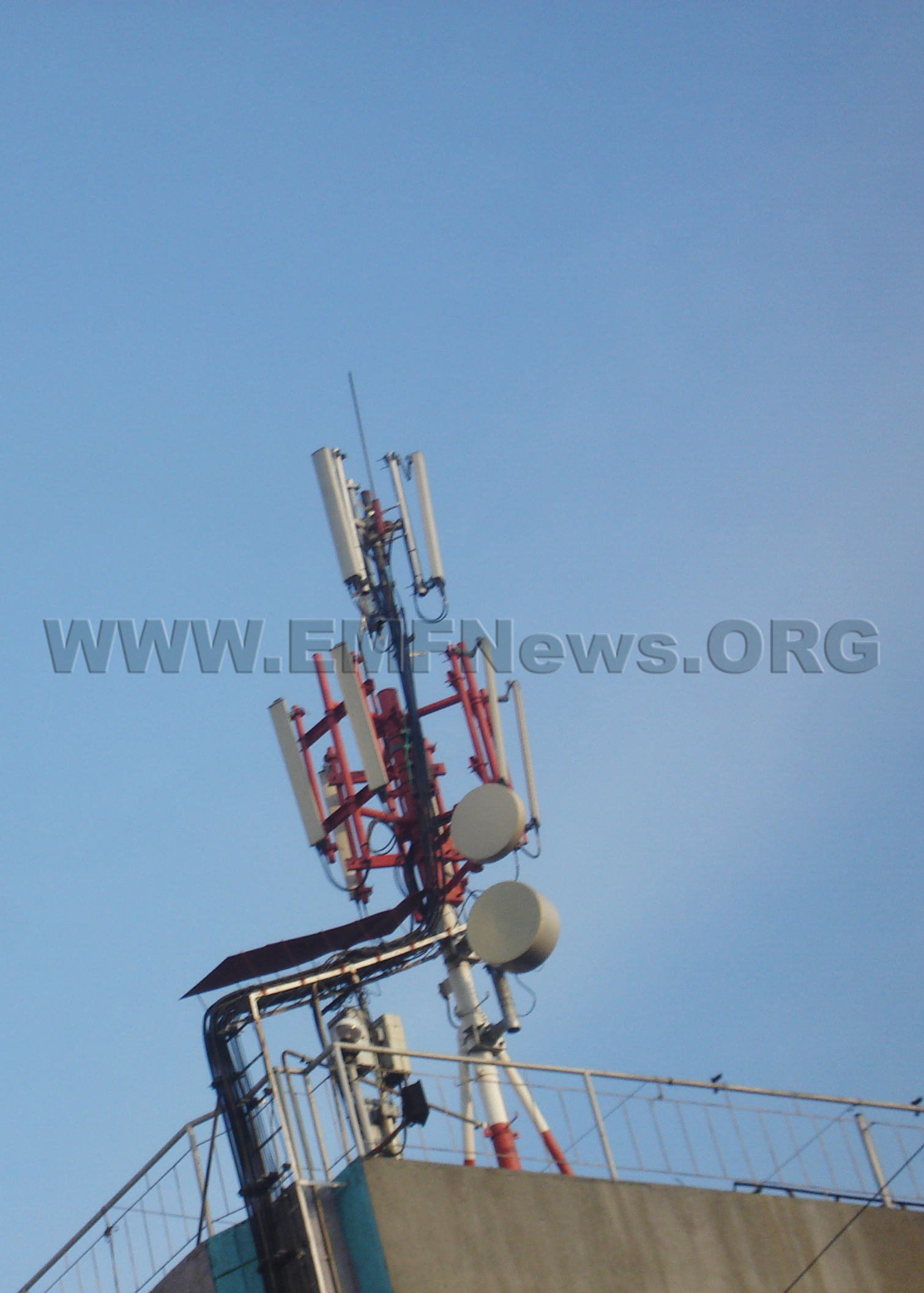 Cell Phone Radiation, Cell Towers