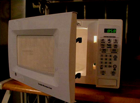 Microwave Oven, Microwaves Danger