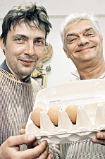 scientists who did cell phone radiation egg experiment