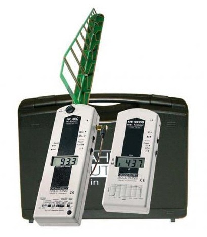 Advanced Stage 1 Home-Office-EMF-RF Detection Kit ( ME3830B & HF35C ) - Audible Meters