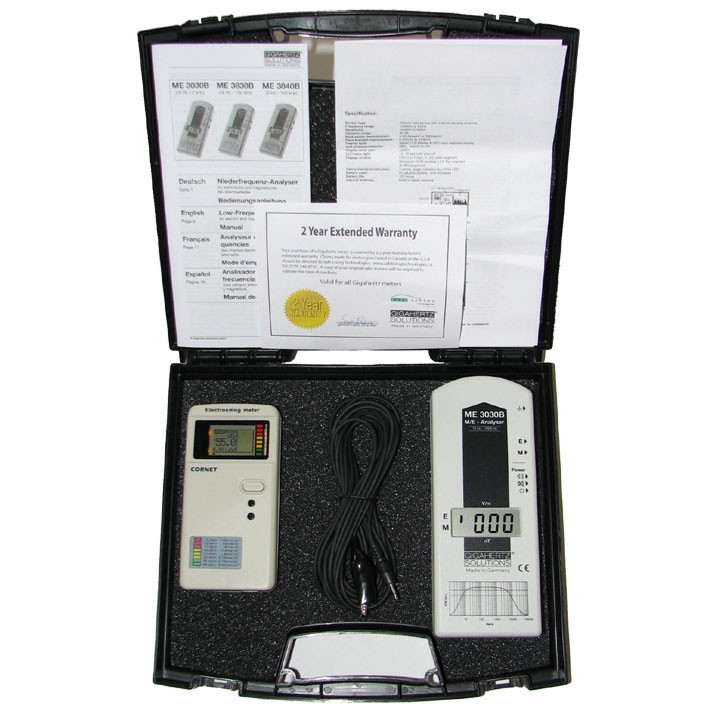 Basic Beginner EMF Detection Kit-Not Audible (ME3030B and ED-65)