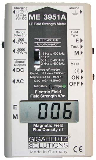 ME 3951A Meter-5 Hertz to 400 000 Hertz