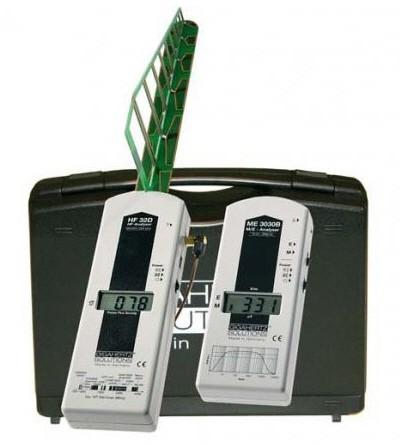 Basic Beginner-Stage 1- Home-Office-EMF-RF Detection Kit (ME3030B and HF32D) - Not Audible